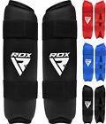 RDX Shin Instep Guards Leg Foot Protector Karate Taekwondo TKD MMA Kick Boxing Y