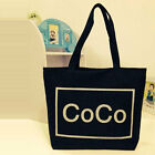 Womens Students Athletic Canvas Tote Shopping Shoulder Bag With Pattern Printed