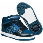 Heelys Fly 2.0 High Top Shoes- Navy/New Blue/White +Free Delivery,DVD