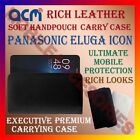 ACM-RICH LEATHER SOFT CASE for PANASONIC ELUGA ICON MOBILE HANDPOUCH COVER NEW