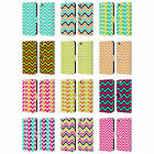 HEAD CASE DESIGNS NEON CHEVRON LEATHER BOOK WALLET CASE FOR APPLE iPHONE PHONES