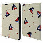 HEAD CASE DESIGNS MARINE PATTERNS LEATHER BOOK WALLET CASE COVER FOR APPLE iPAD
