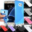 S/ Matte Soft TPU Gel Silicone Cover Case For Samsung Galaxy S6 Edge+ Plus G298