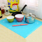 Chic Silicone Cake Dough Pastry Rolling Baking Mat Measure Pad Sheet Liner