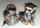 NEW Troll Family Viking Dam Ugly Gnome Gift Ornament Statue Garden Outdoor Home