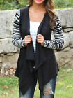 Women Ladies Casual Bobo Long Sleeve Top Blouse Jacket Coat Cardigans Hoodie