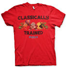 Pixels - T-Shirt Classically Trained (Donkey Kong Pac-Man) - Licence officielle