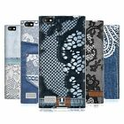 HEAD CASE JEANS AND LACES SOFT GEL CASE FOR BLACKBERRY LEAP