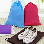 Colourful Non-woven Fabrics Shoes Travel Storage Pouch Drawstring Anti-Dust Bags