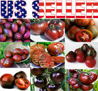 30+ ORGANICALLY GROWN BLACK Tomato Seeds Mix 9 Varieties Heirloom NON-GMO USA