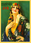 Fashion Gypsy JOB Beautiful Lady Clothes Chic Vintage Poster Repro FREE S/H