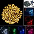 200,300,400,500 LED Solar Power Party String Fairy Wedding Xmas Christmas Lights