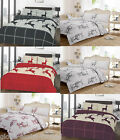 Wild Stag Deer Duvet Quilt Cover Pillow Case Christmas Bedding Set All Uk Size
