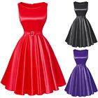 NEW ARRIVAL 1950s 60s Vintage Dress FLARED Rockabilly Pinup Swing Prom Tea Dress