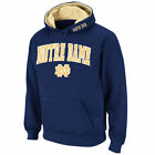 Colosseum Notre Dame Fighting Irish Navy Arch & Logo Pullover Hoodie