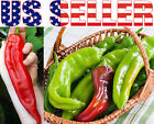 30+ ORGANICALLY GROWN GIANT Big Jim Mild Hot Pepper Seeds Heirloom NON-GMO USA