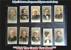 ☆ Wills - Musical Celebrities (1st Series) (F) ***Pick The Cards You Need***