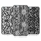 HEAD CASE DESIGNS BLACK LACE HARD BACK CASE FOR APPLE iPHONE 6S