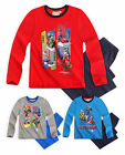 Boys Official Nintendo Super Mario Pyjamas New Kids Mario Kart PJ's Age 4-10 Yrs