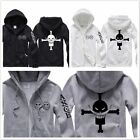 2015 NEW Anime men's jacket One Piece sweater coat Hooded Sweater @@001
