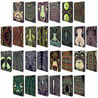 HEAD CASE DESIGNS AZTEC ANIMAL FACES 2 LEATHER BOOK WALLET CASE FOR APPLE iPAD