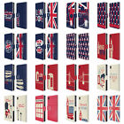 HEAD CASE DESIGNS LONDON BEST LEATHER BOOK WALLET CASE COVER FOR SONY PHONES 1