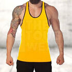 Gym Singlets - Men's Tank Top for Bodybuilding and Fitness - Stringer Sports  <br/> Buy 2+ and get Extra 20% OFF..