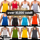 Gym Singlets Mens Tank Top for Bodybuilding and Fitness Stringer Sports