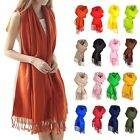 New Women's Warm Soft Long Pashmina Shawl Stole Wrap Scarves 200*60cm CAWJE0183