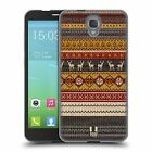 HEAD CASE KNITTED CHRISTMAS SOFT GEL CASE FOR ALCATEL ONETOUCH IDOL 2