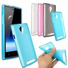 Soft Durable Gel TPU Jelly Back Case Translucent Clear Cover Skin For THL T6S