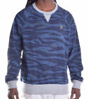 LRG Lifted Research Group Men's 474 Tiger Camo Pull Over Sweatshirt Choose Size