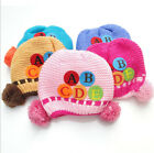 Warm Winter Cute Letter Knitted Infant Cap The Baby Kit Lens Cotton Beanie Hat
