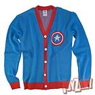 Marvel Captain America Button Up Cardigan Sweater