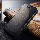 For Apple iPhone 5 5s 6 6S Plus Genunie Leather Wallet Card cover Flip Case skin