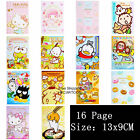 HK SANRIO HELLO KITTY MY MELODY MINA NO TABO POM POM PURIN 13x9CM 2016 DATEBOOK