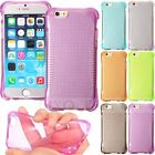 Anti-Slip ShockProof Soft TPU Gel Silicone Dot Case Cover For iPhone 6S 4.7/Plus