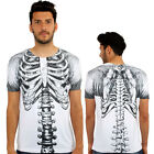 Angel Skeleton 3D Print Fitted T-Shirt Urban life Monkey Business Hip Hop Top