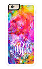 iPhone Case Custom Personalized Monogrammed. Colorful Abstract Pattern