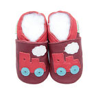 Baby Newborn Pre Walker Soft Sole Leather Boy Girl Shoes Train