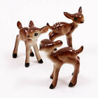 Baby Deer Roe 4cm Ceramic Doll Figurine Miniature Dollhouse Collectible A1105