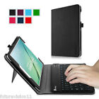 Bluetooth Keyboard Leather Case Cover for Samsung Galaxy Tab S2 8.0 / 9.7 inch