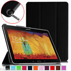 """Внешний вид - For Samsung Galaxy Note 10.1"""" inch SM-P600 2014 Edition Smart Leather Case Cover"""