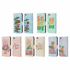 HEAD CASE DESIGNS NOMAD LEATHER BOOK WALLET CASE COVER FOR APPLE iPHONE PHONES