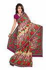 Fancy Amusing Printed Casual Wear Synthetic Cotton Saree By triveni