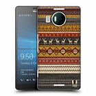 HEAD CASE DESIGNS KNITTED CHRISTMAS HARD BACK CASE FOR MICROSOFT LUMIA 950XL