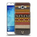 HEAD CASE DESIGNS KNITTED CHRISTMAS HARD BACK CASE FOR SAMSUNG GALAXY A8