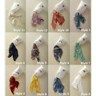 HIGA New Womens Long Soft Cotton Toile Scarf Wrap Solid Color Neck Scarves Shawl