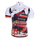 2015 Men National Team Race Short Sleeve Bicycle Bike Cycling Sports Jersey Tops
