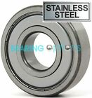 PREMIUM BEARINGS 6800 - 6809 ZZ STAINLESS STEEL (GRADE 316)